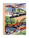 The New Yorker Cover - July 4, 1931 Premium Giclee Print by Theodore G. Haupt