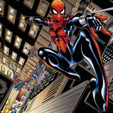 Ultimate Spider-Man Style Guide: Spider-Girl Poster