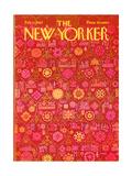 The New Yorker Cover - February 11, 1967 Giclee Print by Anatol Kovarsky