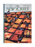 The New Yorker Cover - October 29, 1966 Premium Giclee Print by Anatol Kovarsky