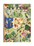The New Yorker Cover - August 31, 1946 Premium Giclee Print by Charles E. Martin