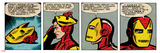 Marvel Comics Retro Style Guide: Iron Man Posters