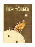 The New Yorker Cover - August 6, 1990 Premium Giclee-trykk av Victoria Roberts
