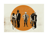 Old Time Trial, 2014 Giclee Print by Eliza Southwood