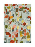 Uphill, 2012 Giclee Print by Eliza Southwood