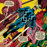 Marvel Comics Retro Style Guide: Black Bolt Poster