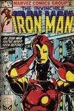 Marvel Comics Retro Style Guide: Iron Man Poster