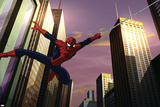 Ultimate SpiderMan - Animation - Still Sequences Prints
