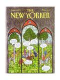 The New Yorker Cover - September 3, 1990 Premium Giclee Print by J.B. Handelsman
