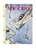 The New Yorker Cover - July 17, 1943 Giclee Print by William Steig