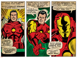 Marvel Comics Retro Style Guide: Iron Man Print