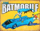 Batman - Batmobile Placa de lata