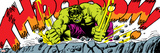 Marvel Comics Retro Style Guide: Hulk Stampe