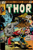 Marvel Comics Retro Style Guide: Thor Poster