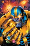 Avengers Assemble No. 7: Thanos Kunstdruck