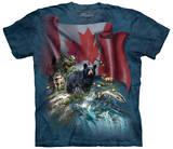 Canada The Beautiful T-skjorte