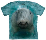 Big Face Manatee T-Shirts