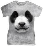 Women's: Big Face Panda T-Shirts