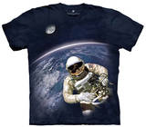 Youth: First American Space Walk Smithsonian Collection T-skjorte