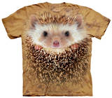 Youth: Big Face Hedgehog T-Shirts