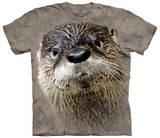 North American River Otter Bluse