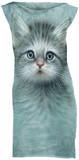 Mini Dress: Blue Eyed Kitten Mini-jurk