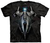 SR71 Blackbird T-skjorte