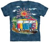 Batik Tour Bus T-skjorte