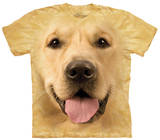 Youth: Big Face Golden T-Shirts