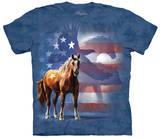 Wild Star Flag T-skjorter