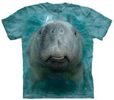 Youth: Big Face Manatee Tshirts