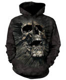 Hoodie: Breakthrough Skull Pullover con cappuccio