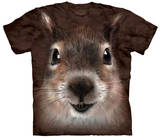 Squirrel Face T-shirts