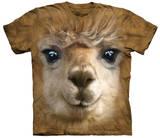 Big Face Alpaca T-Shirts