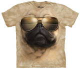 Aviator Pug T-shirts