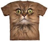 Big Face Brown Cat T-Shirts