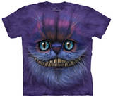 Big Face Cheshire Cat Skjortor