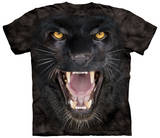 Aggressive Panther T-skjorter