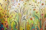 Welcome to My Garden Arte por Jennifer Lommers