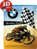 BMW - Für höchste Ansprüche Targa di latta