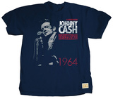 Johnny Cash - Newport 1964 (premium) Maglietta