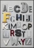 ABC Impressão montada por Louis Gaillard