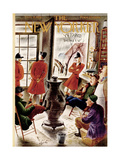 The New Yorker Cover - November 8, 1952 Premium Giclee Print by Constantin Alajalov