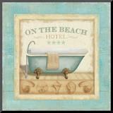Beach Hotel I Impressão montada por Lisa Audit