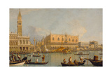 Ducal Palace, Venice Giclee Print by  Canaletto