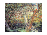 The Garden in Vétheuil, 1881 Giclee Print by Claude Monet