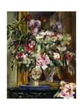Vase of Flowers, 1871 Reproduction procédé giclée par Pierre-Auguste Renoir