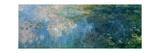 Nymphéas (Waterlilies), Paneel C II Reproduction procédé giclée par Claude Monet