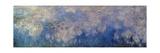 Nymphéas, Paneel B II Reproduction procédé giclée par Claude Monet