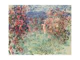 The House Among the Roses (La Maison Dans Les Roses), 1925 Giclée-Druck von Claude Monet